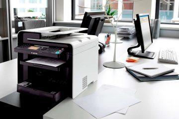 Thiết bị máy văn phòng, Máy in, Máy fax